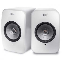 KEF LSX wireless WHITE sistema altoparlanti attivi hifi multiroom bluetooth e wifi