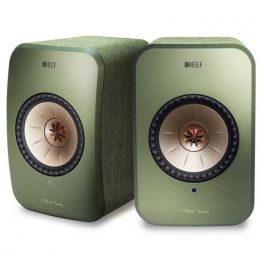 KEF LSX wireless GREEN - SIGNATURE sistema altoparlanti attivi hifi multiroom bluetooth e wifi
