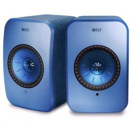 KEF LSX wireless BLUE sistema altoparlanti attivi hifi multiroom bluetooth e wifi