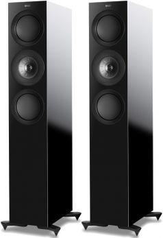Kef R7 Black coppia diffusori da pavimento 3 Vie Uni-Q Tweeter 25mm + Mid 125mm. Woofer 2 X 165mm