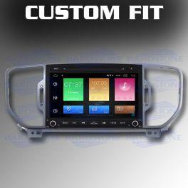 HARDSTONE HS KIA05-AM autoradio custom per KIA SPORTAGE dal 2014 al 2018 Android 9.0