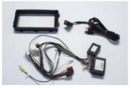 Alpine KIT-OUTLANDER13-AMPL kit installazione su Outlander