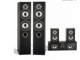 Eltax EXPLORER 5.0 kit home cinema completo di 5 diffusori Hi-Fi