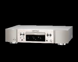 Marantz ND8006 Lettore CD player di rete di sorgenti musicali, CD audio, AirPlay, Bluetooth, Oro silver