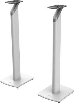 KEF LSX Stand da pavimento per diffusori LSX - White/Silver (coppia)