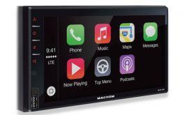 Macrom M-DL7000D autoradio 2 DIN con DAB+, CarPlay, Android Auto