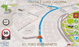 Macrom M-NV19FEC cartografia GPS per auto  e camper sistema BeNomad