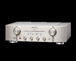 Marantz PM8006 amplificatore integrato, Silver oro, 2 x 70 Watt su 8 Ohm circuiti Current Feedback.