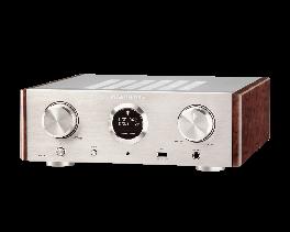 Marantz HD AMP1 amplificatore compatto per cuffie, silver,oro, modalità DAC, 2 ingressi digitali