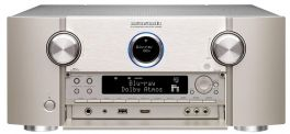 Marantz SR8012 Sintoamplificatore, silver,oro, AV 11.2 canali con 205W/canale, Home Theater, Streamer e Network Player