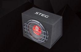 "STEG ME12 subwoofer per auto 32mm da 12"" e 150W RMS High End Alta Efficienza"