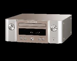 Marantz MELODY M-CR612 sintoamplificatore stereo di rete riproduzione di dischi CD,silver oro, radio DAB +, sistema HEOS