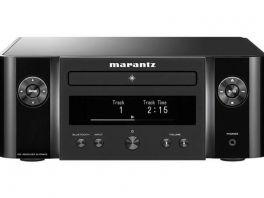 Marantz MELODY M-CR612 sintoamplificatore stereo di rete riproduzione di dischi CD,Nero, radio DAB +, sistema HEOS