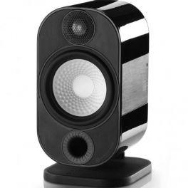 MONITOR AUDIO APEX 10 METALLIC mini diffusori  da supporto/parete 2 vie 100watt coppia-NERO