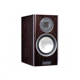 MONITOR AUDIO GOLD 100 5G diffusori da supporto bass reflex 2 vie serie platinum II 120W (coppia)-WALNUT