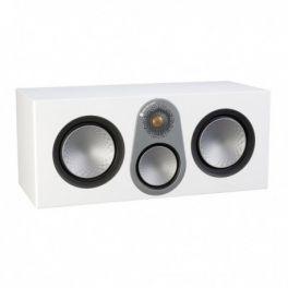 MONITOR AUDIO SILVER C350 6G Diffusore per canale centrale a 3 vie in cassa chiusa 200 watt-BIANCO LUCIDO