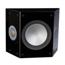 MONITOR AUDIO SILVER FX 6G diffusori per canale surround a 2 vie in cassa chiusa 85 watt coppia-NERO LUCIDO