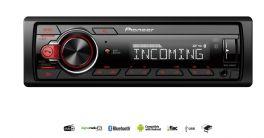 Pioneer MVH-330DAB autoradio 1 DIN con DAB/DAB+, Bluetooth, Red illumination, USB and Android devices