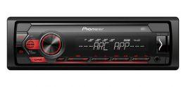 Pioneer MVH-S220DAB autoradio 1 DIN, USB MECHALESS con RDS, DAB/DAB+, USB, Aux-in anteriore, controlli diretti iPhone, Spotify e Pioneer Arc