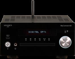 "Advance Acoustic MYCONNECT 60 Amplificatore integrato sistema audiophile compatto ""all-in-one"""