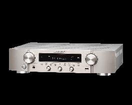 Marantz NR1200 Sintoamplificatore di rete Stereo ultrasottile, silver,oro, 75W, Bluetooth, wifi integrato