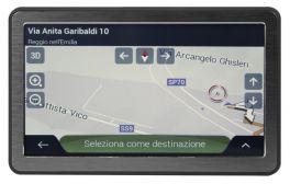 "Phonocar NV005 NAVIGATORE GPS PORTATILE con DISPLAY TOUCH SCREEN 7"" PER AUTO"