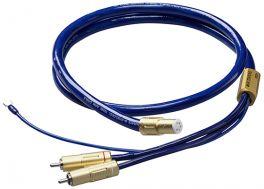 Ortofon 6NX-TSW 1010 Cavo phono per bracci connettori a 5 pin diritto / RCA da 1,20MT. Conduttori in rame purissimo 6N/5N OFC