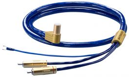 Ortofon 6NX-TSW 1010L Cavo phono per bracci a 5 pin a L / RCA da 1,20MT. Conduttori in rame purissimo 6N/5N OFC