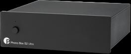 Pro-ject PHONO BOX S2 ULTRA BLACK Stadio fono MM/MC a componenti discreti. Prestazioni Audiophile