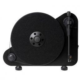 Pro-Ject VTE R Giradischi verticale NERO con braccio e testina Ortofon OM5E