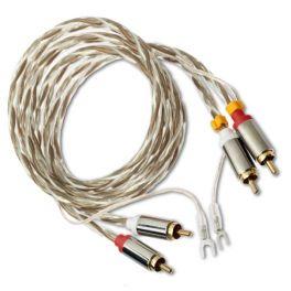 Pro-ject CONNECT IT E Cavo stereo RCA/RCA di collegamento tra elettroniche/giradischi, Lunghezza 1,23mt