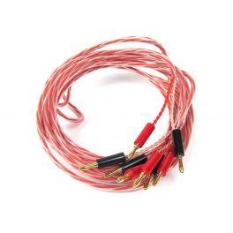 Pro-ject CONNECT IT LS 4MT COPPIA cavi per diffusori 4 metri Rame HP-OFC Connettori a banana