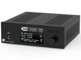 Pro-ject PRE BOX RS2 DIGITAL Nero Preamplificatore/Convertitore high-end. Circuitazione Dual Mono bilanciata. Componentistica selezionata.