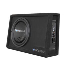 Soundstream modello PSB-12A amplificato in cassa con il subwoofer PSW-124