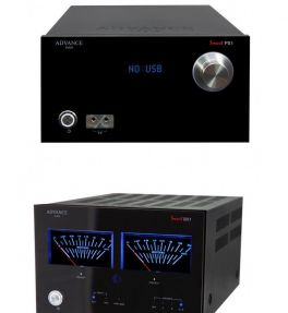 ADVANCE ACOUSTIC SMART BX1 + SMART PX1 BLACK Amplificatore + Preamplificatore Classe A + AB 105W Audiophile