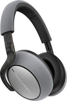 B&W PX7 Cuffie HIFI wireless con cancellazione attiva del rumore, Grigio chiaro (Silver)