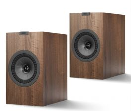 KEF Q150 WALNUT Diffusori da scaffale High End Ash Vinyl 100W (COPPIA)