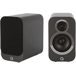 Q ACOUSTICS Q 3010i neri diffusori hifi e home cinema da stand/scaffale (COPPIA)