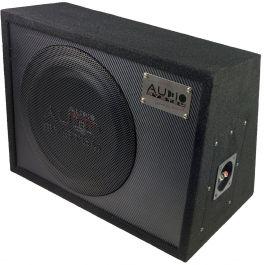 """Audio System R10 Flat Evo G subwoofer 10"""" boxato passivo 300 WRMS @ 4 ohm"""