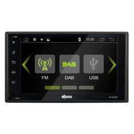 RADICAL RD210 autoradio 2 DIN con DAB+, Bluetooth, USB