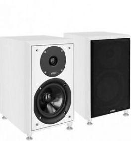 ELTAX MONITOR I diffusori HiFi compatti 2 vie bass Reflex 90W WHITE (COPPIA)