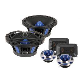Soundstream SME.650C Kit altoparlanti midwoofer Pro Audio da 100W - 165mm e tweeter