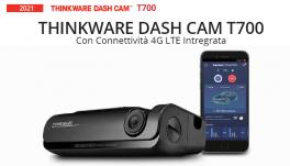THINKWARE DASH CAM T700 Dashcam con connettività 4G LTE Intregrata (controllo da remoto) *NOVITA' ASSOLUTA*