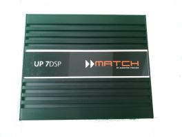 Match UP 7DSP amplificatore con DSP 7 canali 160W RMS universale plug&play