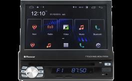 """Phonocar VM045K autoradio 1 DIN mappa CAMPER Android 10.0 pollici DAB+ con Monitor TFT 7"""" Motorizzato a scomparsa, lettore CD/DVD/USB/Micro SD"""