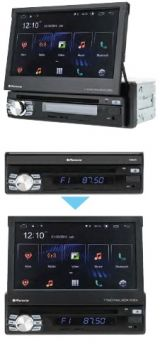 Phonocar VM045E autoradio 1 DIN con Android 10, mappa EUROPA compresa, smartphone link, radio DAB+