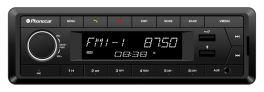 Phonocar VM064 autoradio DAB+ con 2 porte usb (musica+ricarica) frontalino estraibile e bluetooth