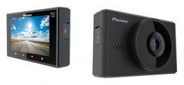 """Pioneer VREC-170RS Dashcam Full HD, 30 fps, Visione 129° GPS, Display da 3"""" GPS, collegamento wireless e modalità Parcheggio"""