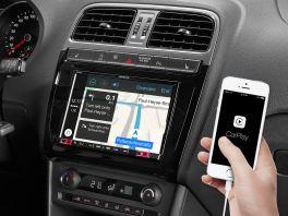 Alpine X803D-P6C autoradio per Volkswagen Polo 5 / GTI (6C) con mappe TomTom, Android Auto e Apple CarPlay