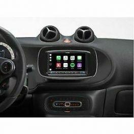Alpine INE-W720SM-B autoradio per Smart 453 Car Play Android Auto, NERO